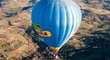 sport promotion mongolfiera in volo
