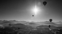 raduno mongolfiere mondovì 2015 volo