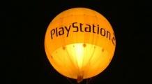 Palloni gonfiabili pubblicitari Playstation