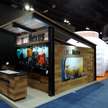 stand gonfiabile outdoor