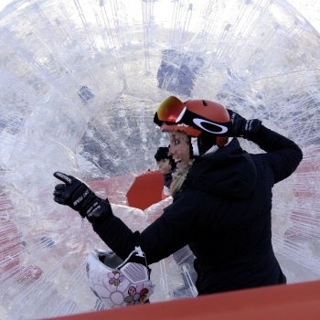 zorb ball winterland tour