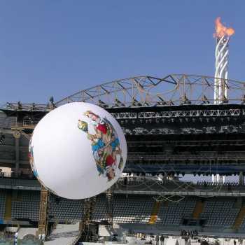 pallone gonfiabile elio
