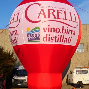 sfera gonfiabile Carrelli