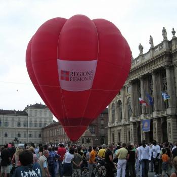 Eventi di piazza con le mongolfiere