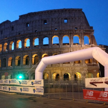 Archi gonfiabili maratona di roma