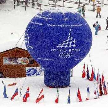 sfera gonfiabile Torino 2006
