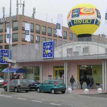 sfere gonfiabili per negozi